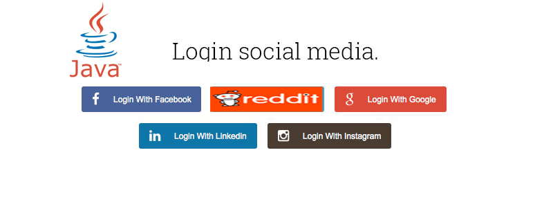 Integrate login with Social Network using JAVA - ChillyFacts