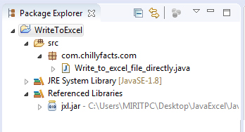 Export excel java - How to write data into excel sheet using