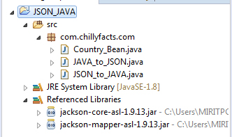 convert json to java object online