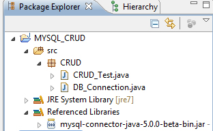 JAVA MySQL Create Read Update Delete CRUD Project - ChillyFacts