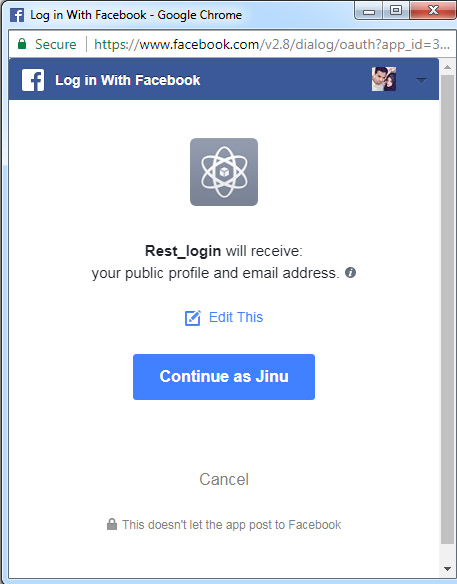 JAVA - Integrate Login with Facebook using graph API - ChillyFacts